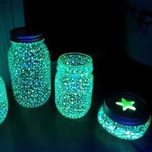 Jak sprawić, by słoiki zaczęły świecić?