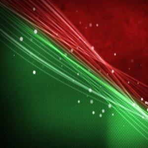Czerwony i zielony