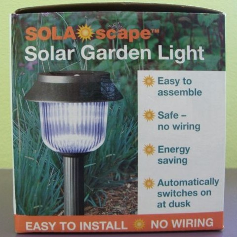 Demontaż lamp solarnych
