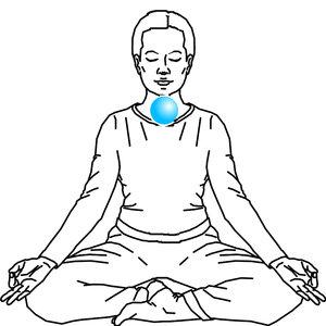 Uzdrawianie czakry gardła za pomocą medytacji