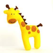 Jak zrobić filcową żyrafę?