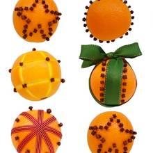 Jak zrobić bombkę z pomarańczy?