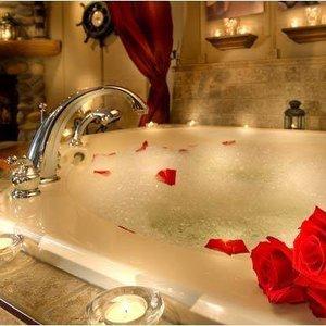 Relaksująca kąpiel