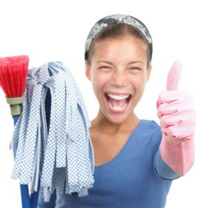 Posprzątaj dom albo skop ogródek