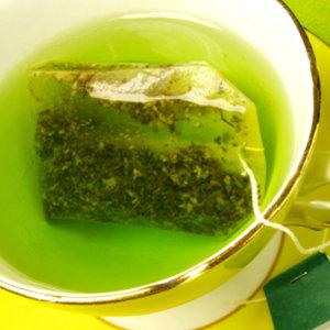 Kompres z zielonej herbaty