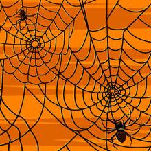 Podkładki-pajęczyny – idealne na Halloween