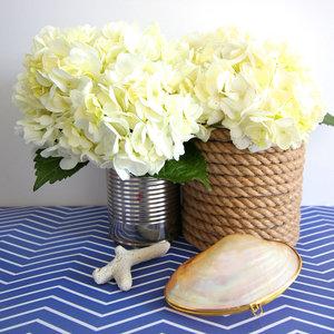 Jak wykorzystać sznurek do zrobienia osłonki na wazon?