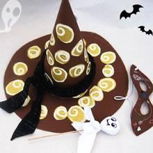 Jak zrobić papierowy kapelusz czarownicy?