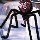 Smaczne pająki z lizaków na Halloween