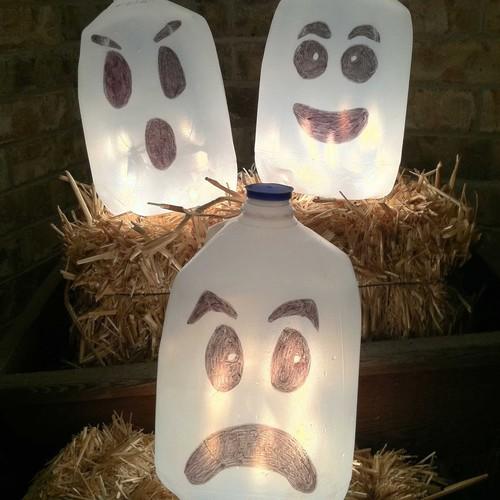 Jak wykonać lampion w kształcie ducha?