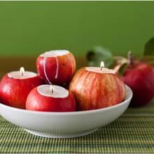 Ciekawa świeczka z jabłka – jak zrobić?