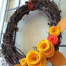 Jak zrobić kwiaty jesienne z filcu?