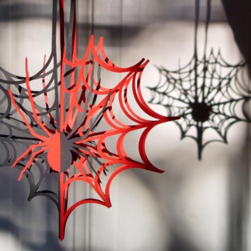 Jak wykonać papierową pajęczynę?