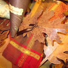Jak zrobić papierowe serwetki – liście?