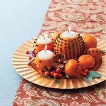 Jak wykonać świeczniki z owoców?