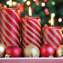 Jak przygotować dwukolorowe świece świąteczne?