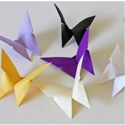 Jak wykonać motylki – origami?