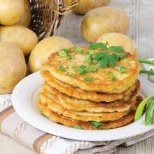 Pyszne placki ziemniaczane z serem