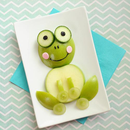 Żabka z jabłka – specjalnie dla dziecka