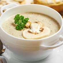 Pyszna zupa-krem z pieczarkami