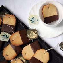 Jak wykonać ciasteczka w kształcie torebek herbaty?