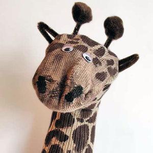 Jak zrobić zabawną żyrafę z skarpety?