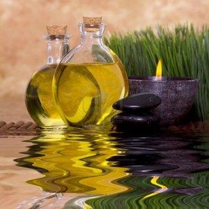 Nakładanie olejków