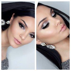 Sposób wykonania srebrnego makijażu na imprezę