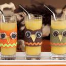 Drinki z filcu – oryginalna dekoracja na sylwestra