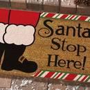 Jak wykonać świąteczną wycieraczkę przed drzwi?
