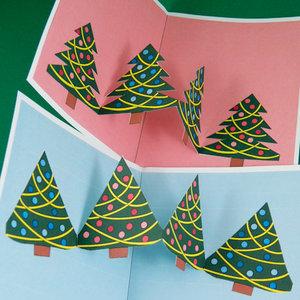 Wykonanie kartki świątecznej – sposób czwarty