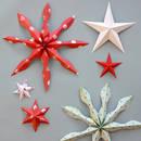 Prosty sposób wykonania gwiazdek z papieru