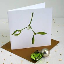 Jak zrobić ciekawą kartkę z jemiołą?