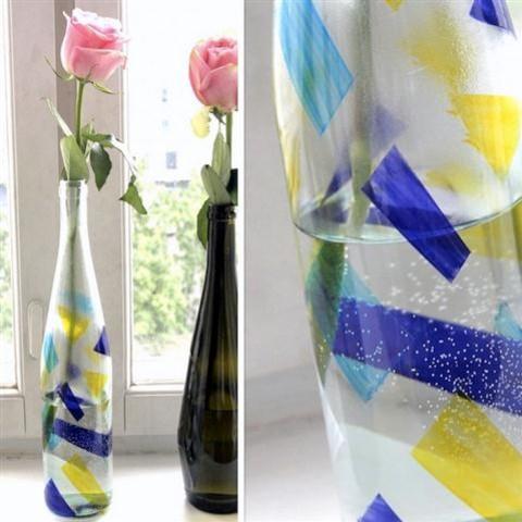 Jak w prosty sposób zrobić wazon z butelki?