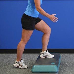 Wzmacnianie stawów kolanowych – ćwiczenie drugie