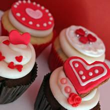 Romantyczne muffiny na walentynki