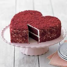Walentynkowe ciasto w kształcie serca