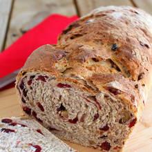 Smaczny chleb żurawinowy – jak zrobić?
