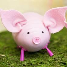 Jak wykonać pisanki-świnki?