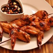 Pyszne pikantne skrzydełka z grilla