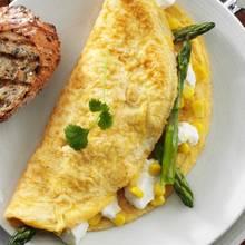 Omlet z kukurydzą – pyszne śniadanie