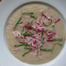 Zaskakująca zupa z rzodkiewki