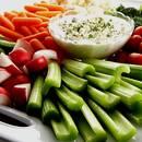 Jak przyrządzić smaczne warzywa z dipem?