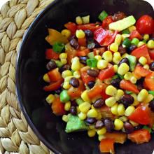 Przepis na sałatkę meksykańską do obiadu