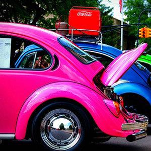 Grafitowe auto