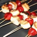 Jak przygotować truskawki z grilla?