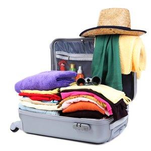Ułożenie w walizce