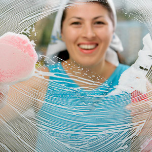 Mycie szyb okiennych – sposób drugi