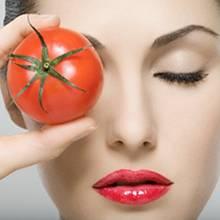 Maseczki pomidorowe do cery trądzikowej