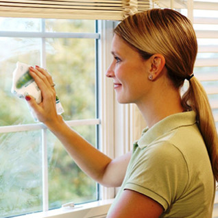 W jaki sposób należy myć okna?